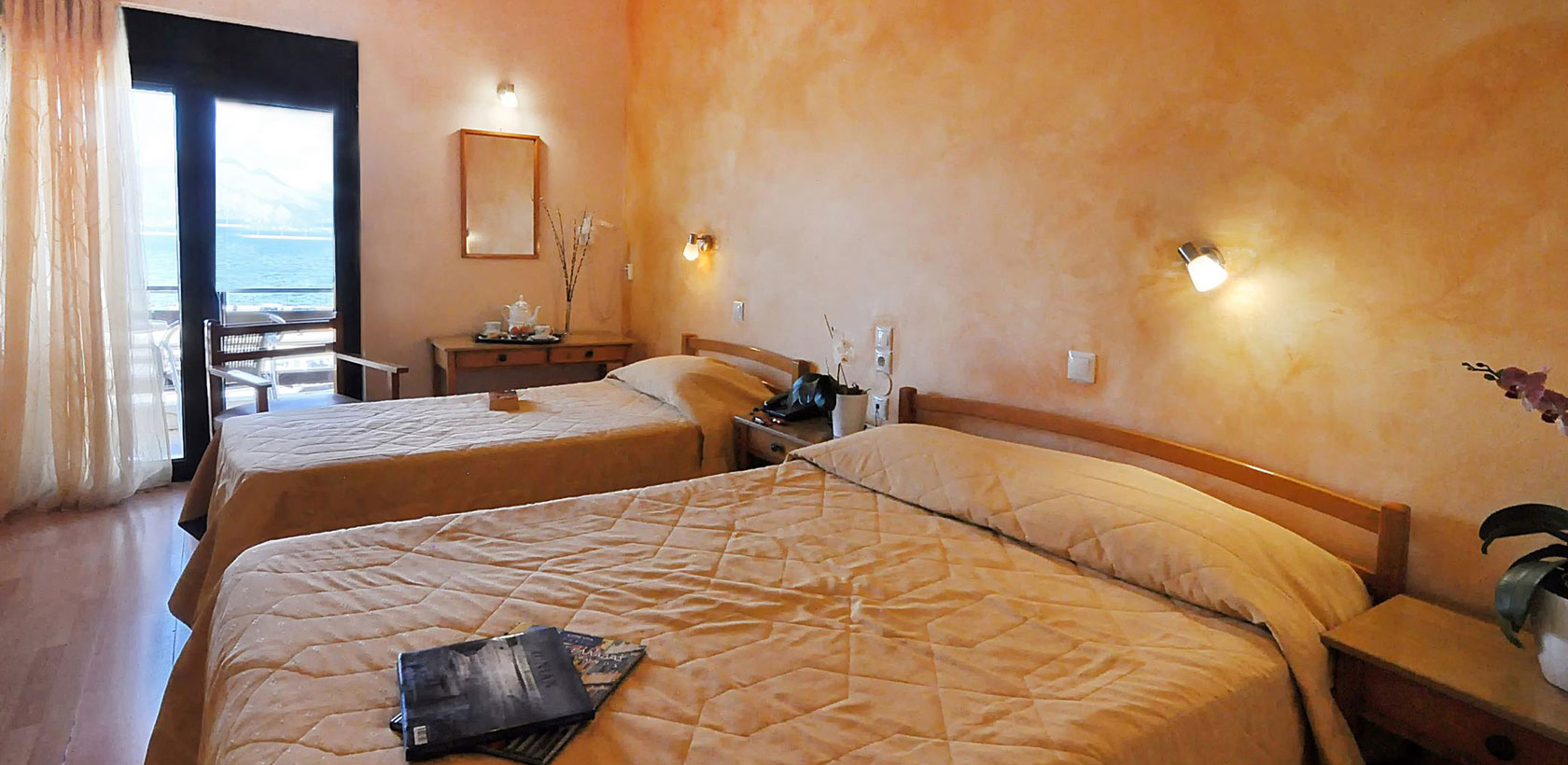 Corfu Accommodation - Triple Room